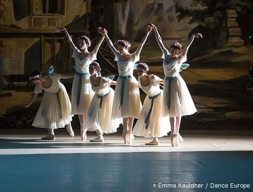 Le ballet dans le ballet La Sylphide - Illusions perdues
