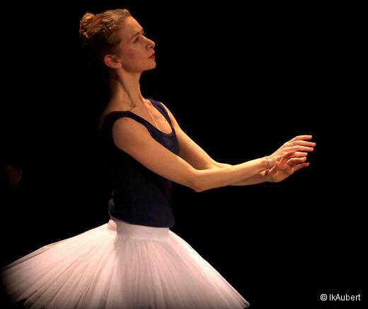 La Bayadère - Myriam Ould-Braham en répétition