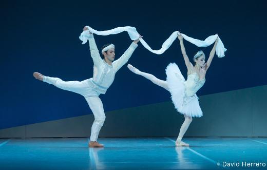 Davit Galstyan et Maria Gutierrez - La Bayadère