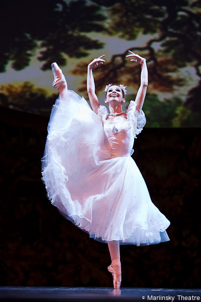 Evgenia Obraztsova dans La Sylpide - Théâtre du Mariinsky