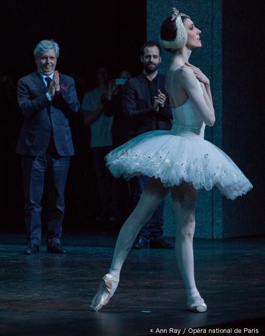 Laura Hecquet lors de sa nomination d'Étoile