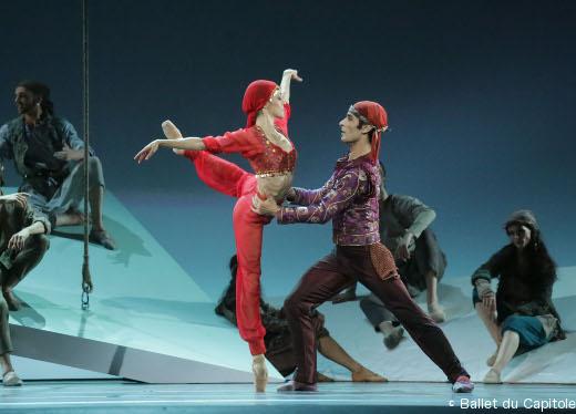 Maria Gutierrez et Davit Galstyan - Le Corsaire - Ballet du Capitole