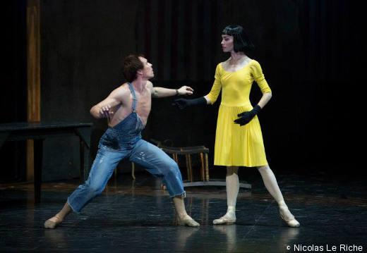 Nicolas Le Riche et Eleonora Abbagnato - Le Jeune Homme et la Mort