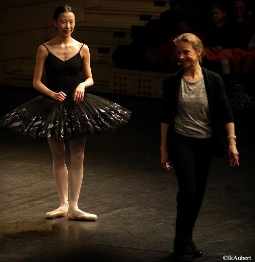Le Lac des Cygnes - Répétitions (Sae Eun Park et Élisabeth Maurin)