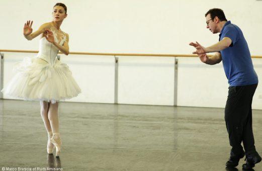 Nicoletta Manni en répétition avec Alexeï Ratmansky.