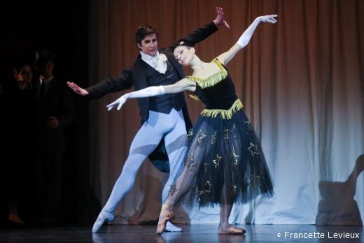 Les Forains - Artyom Maksakov (le prestidigitateur) et Beatrice Carbone (la Belle Endormie)