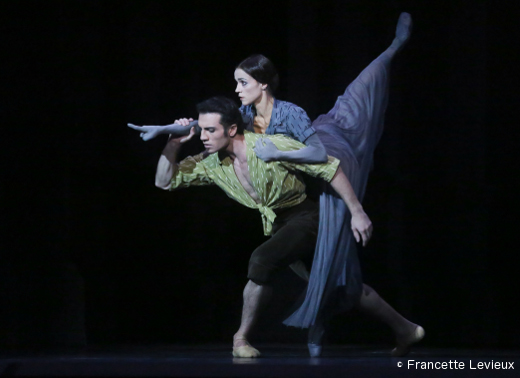 Les-Mirages - Avetik Karapetyan (le Jeune Homme) et Maria Gutierrez (l'Ombre)