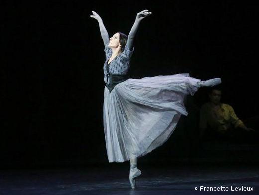 Les Mirages de Serge Lifar par le Ballet du Capitole - Julie Charlet (l'Ombre)