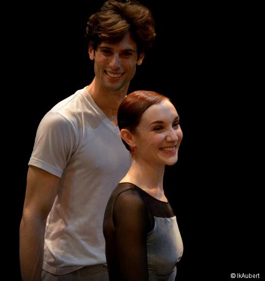Yannick Bittencourt et Eve Grinsztajn -  Répétition des Enfants du Paradis