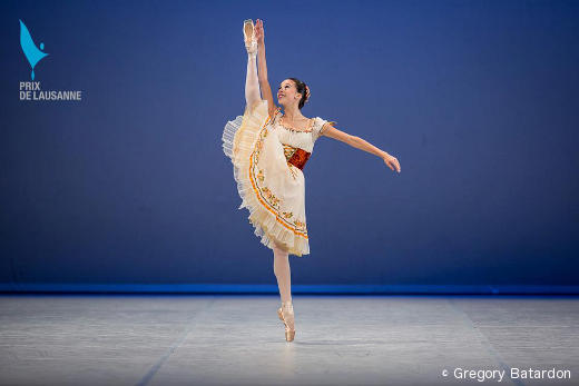 Leticia Domingues au Prix de Lausanne 2013