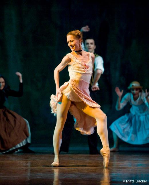 Nadja Sellrup (Royal Swedish Ballet) - Mademoiselle Julie