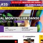Montpellier Danse 2015 – Le programme