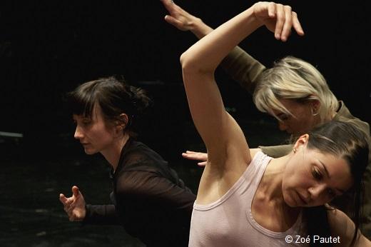 Myriam Gourfink - Gris (en répétition)
