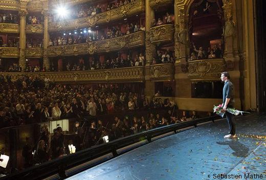 Nicolas Le Riche lors de ses adieux à l'Opéra de Paris