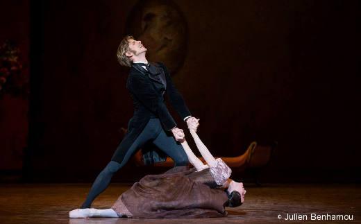 Karl Paquette (Onéguine) et Ludmila Paglieor (Tatiana) - Onéguine
