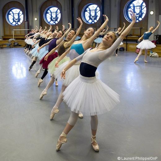Répétition de Paquita - Corps de ballet