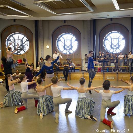 Répétition de Paquita - Corps de ballet et École de Danse
