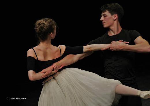 Germain Louvet et Myriam Ould-Braham - Répétition de Paquita