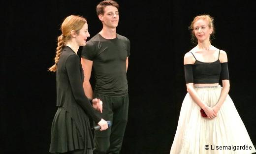 Agnès Letestu, Germain Louvet et Myriam Ould-Braham - Répétition de Paquita