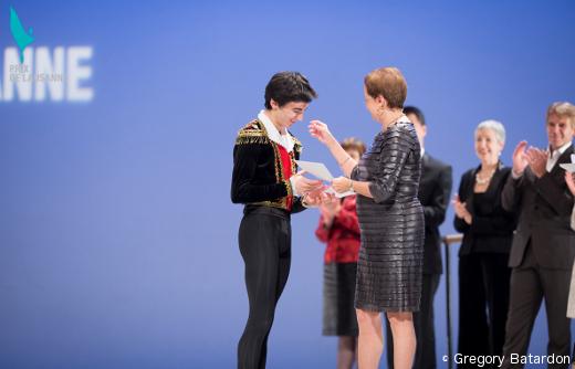 Garegin Pogossian - Finale du Prix de Lausanne (remise des prix)