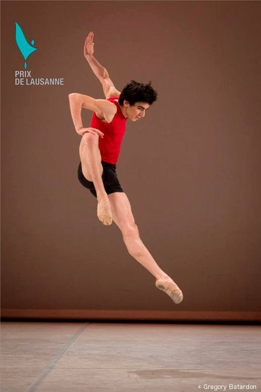 Garegin Pogossian - Finale du Prix de Lausanne (variation contemporaine)