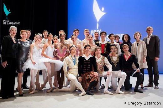 Lauréats et finaliste du Prix de Lausanne 2014
