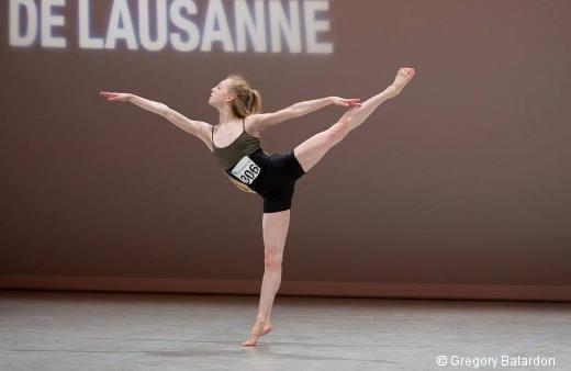 Lou Spichtig - Répétition de sa variation contemporaine - Prix de Lausanne