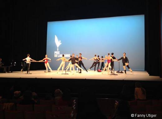 Dernier cours de danse pour les finalistes