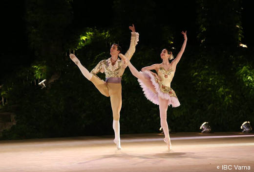 Jérémy-Loup Quer et Hannah O'Neill au Prix de Varna.