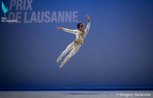 Haruo Niyama, vainqueur du Prix de Lausanne 2014