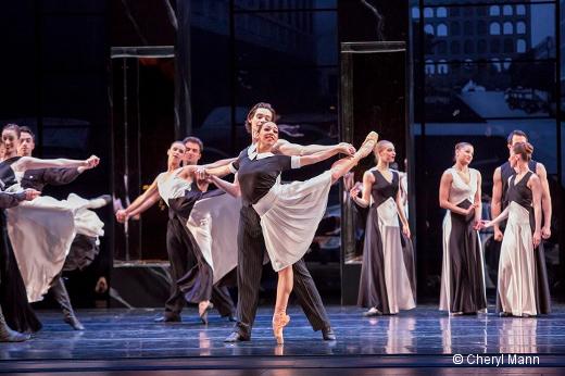 Guillaume Basso dans Roméo et Juliette au Joffrey Ballet