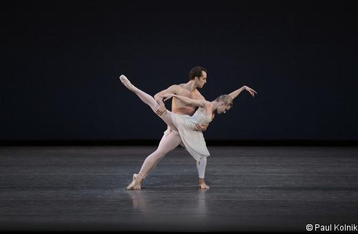 Sara Mearns et Jared Angle - Barber Violin Concerto.