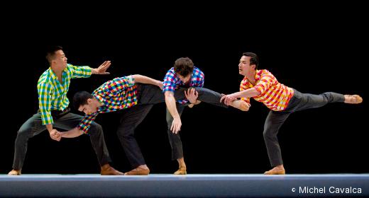 Sarabande de Benjamin Millepied - Ballet de l'Opéra de Lyon