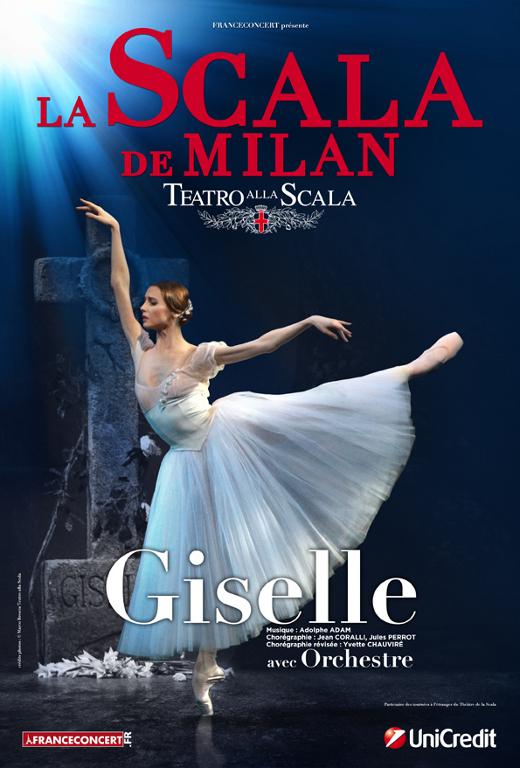 Giselle par la Scala de Milan
