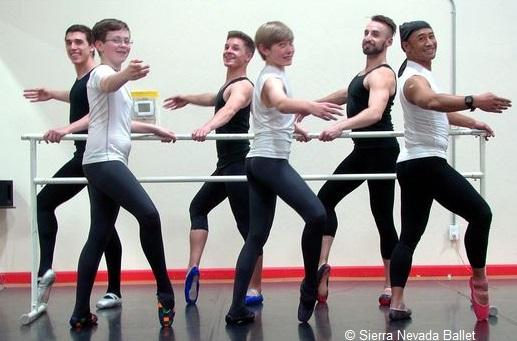 Les cours de pointe du Sierra Nevada Ballet