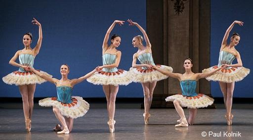 Thème et variations, George Balanchine - NYCB