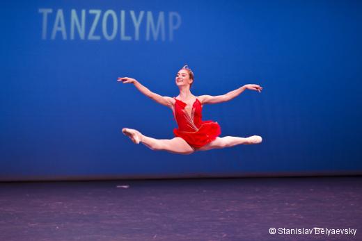 Tanzolymp 2015 - Nina Birukova (Russie, médaille d'argent)