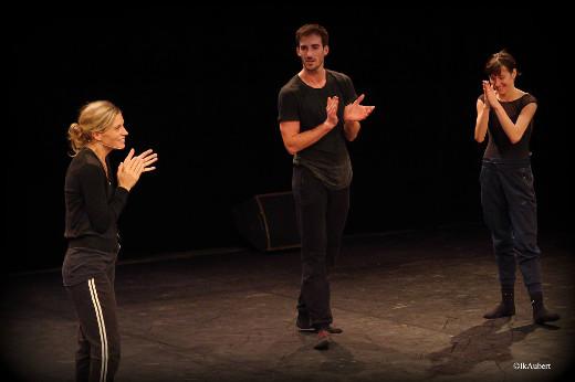 The Seasons' Canon de Crystal Pite en répétition - Vincent Chaillet et Ludmila Pagliero