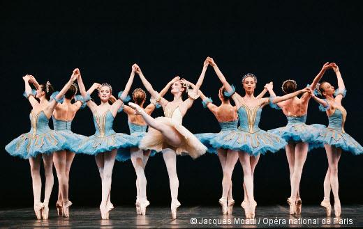 Thème et variations de George Balanchine - Ballet de l'Opéra de Paris