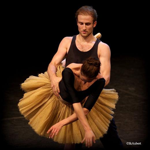 Répétition de Thème et variations de George Balanchine - François Alu et Valentine Colasante
