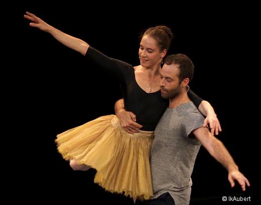 Répétition de Thème et variations de George Balanchine - Valentine Colasante et Benjamin Millepied