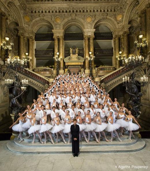 Brigitte Lefèvre et le Ballet de l'Opéra de Paris