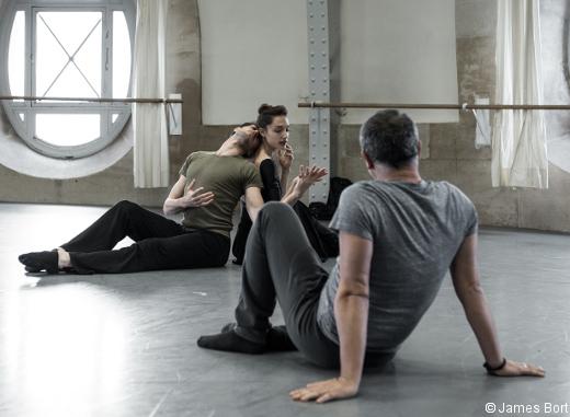 Tristan und Isolde - Dorothée Gilbert, Mathieu Ganio et Giorgio Mancini en répétition