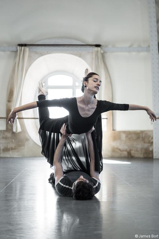 Tristan und Isolde - Dorothée Gilbert et Mathieu Ganio en répétition