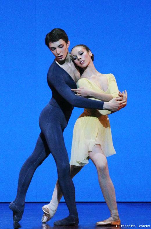 Variations de Violette Verdy - Antonio Conforti  et Roxane Stojanov (spectacle de l'École de Danse)