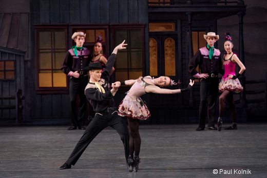 Western Symphony de George Balanchine - Lauren King et Chase Finlay