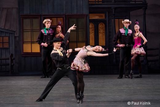 Western Symphony de George Balanchine - Lauren King et Chase Finlay