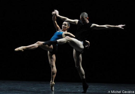 Workwithinwork de William Forsythe (Ballet de l'Opéra de Lyon)