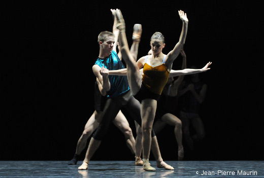 Workwithinwork de William Forsythe - Ballet de l'Opéra de Lyon