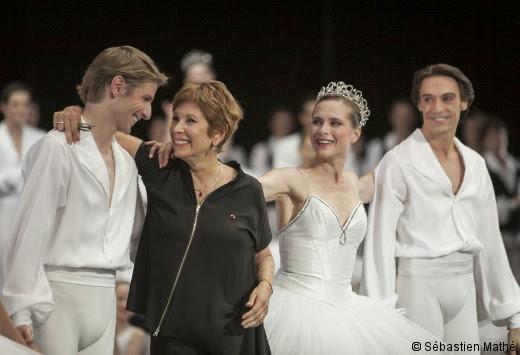 Brigitte Lefèvre lors de ses adieux